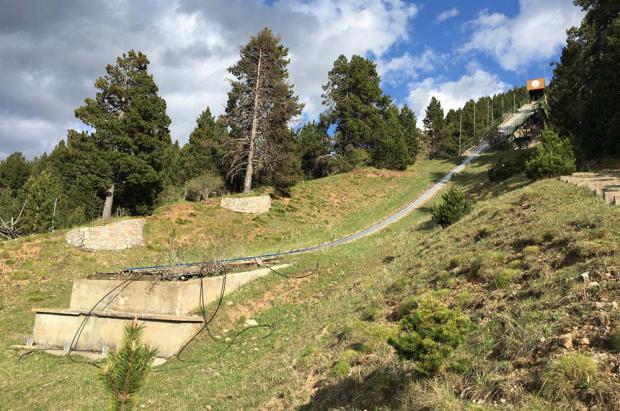 Unos juegos de invierno en los Pirineos, última oportunidad para los trampolines de La Molina