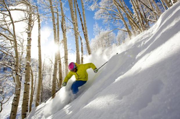 Accidente mortal al esquiar entre árboles en EEUU