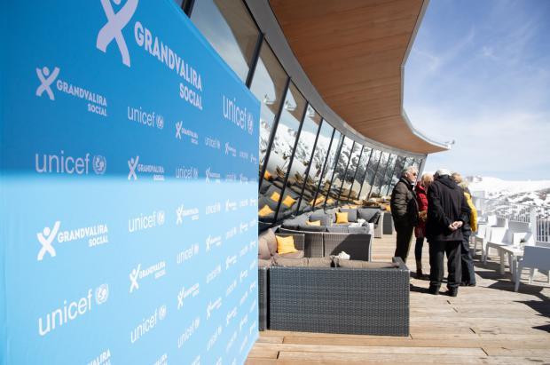 Grandvalira Social recauda cerca de 10.000€ en un 'brunch' solidario para Unicef Andorra