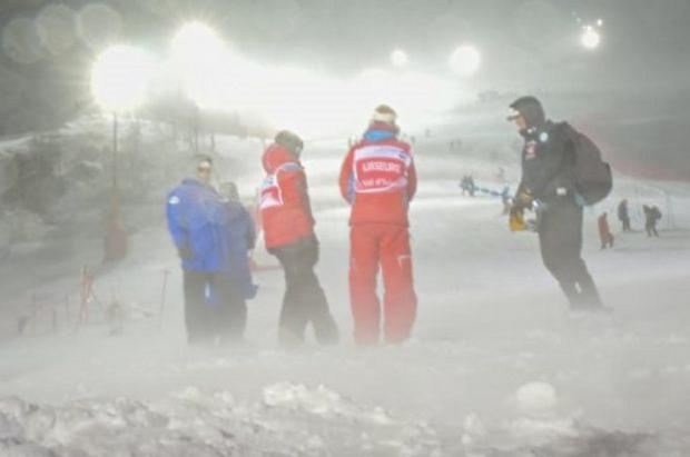 Una tempestad de viento obliga a cancelar el slalom masculino de Val d'Isère