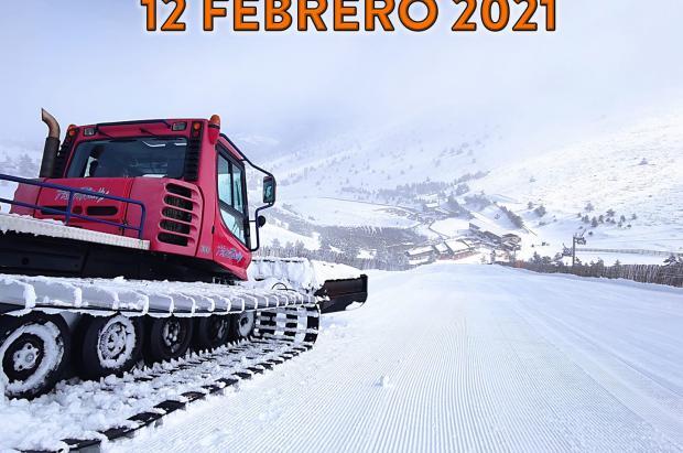 Valdesquí y Navacerrada reabren pistas el 12 de febrero