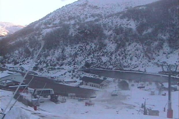Primer fin de semana de esquí en las pistas asturianas la temporada 2014/15