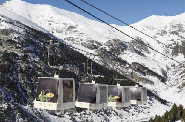 FGC planea renovar el telecabina de Vall de Núria