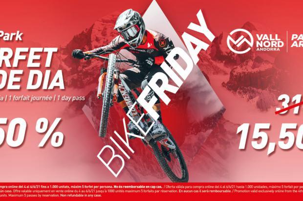 El Bike Friday de Vallnord – Pal Arinsal ofrece forfaits de día al 50% de descuento