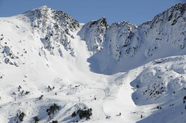 Vallnord afronta el fin de semana con espesores que llegan a los 135 cm en Arcalís