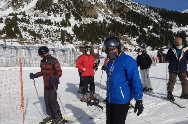 Primer fin de semana con el 90% menos de esquiadores en las pistas del Pirineo de Girona