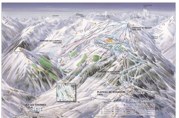 Mérens Les Vals encuesta a los esquiadores para saber si quieren el teleférico a Ax 3 Domaines