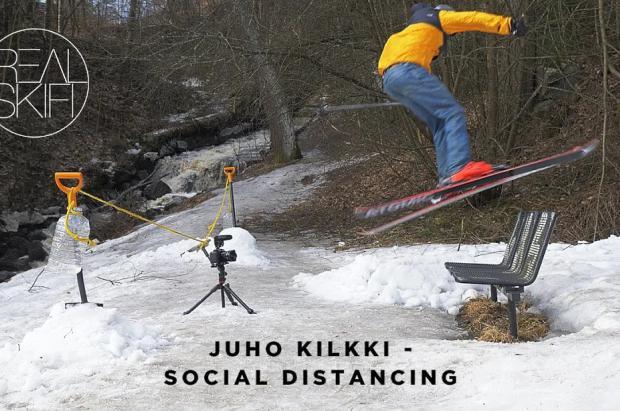 Un nuevo e impresionante vídeo de esquí urbano ¿Quién da más?