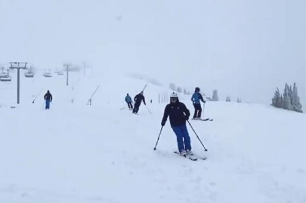 Increíble pero cierto: Villard de Lans abrió para esquiar el 27 de septiembre