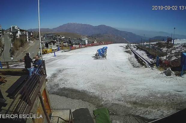 La Parva, la primera en caer en un pésimo invierno en los centros de esquí metropolitanos de Chile