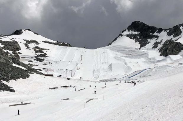 Este año Whistler Blackcomb no abrirá el glaciar para el esquí de verano