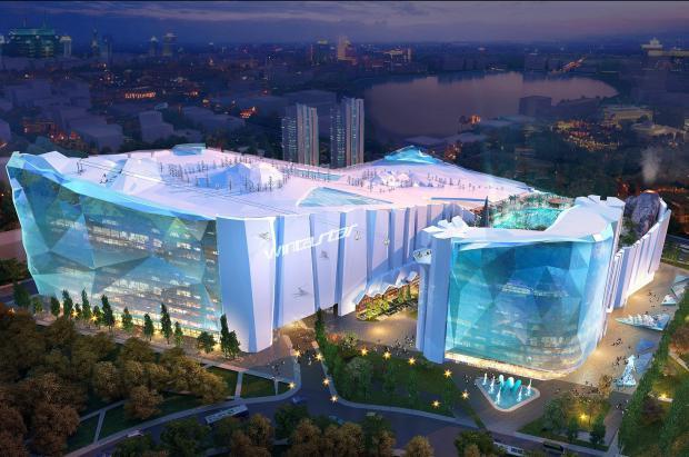 El centro de Ski Indoor Wintastar Shanghai tendrá una extensión equivalente a 32 campos de fútbol