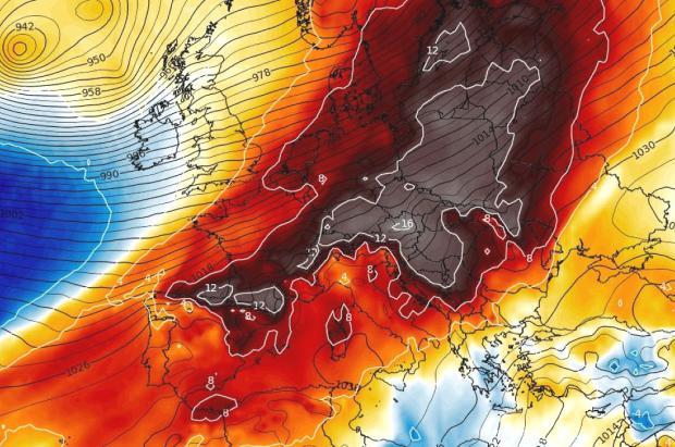 Meteo: Fin de semana de altísimas temperaturas y llegada de frío y alguna nevada el lunes