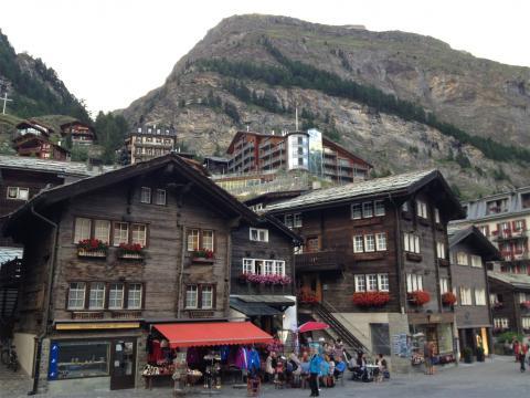Zermatt pueblo