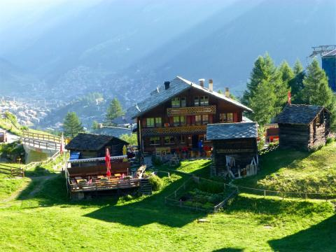 Zermatt Restaurante Furi