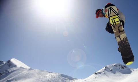 El Snowpark de Artouste