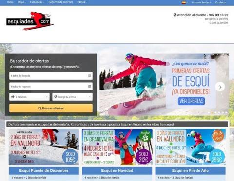 diseño definitivo de la nueva web de esquiades.com