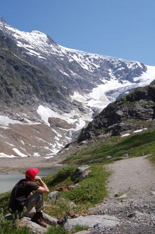Steingletscher en sustenpass