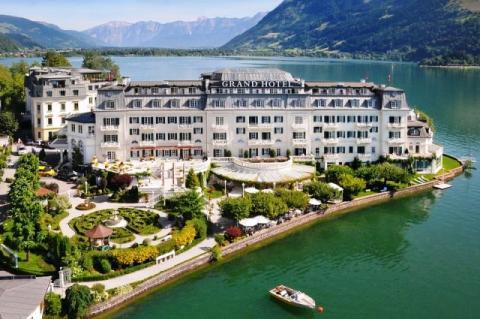 El Gran Hotel de Zell am See, frecuentado por adinerados clientes