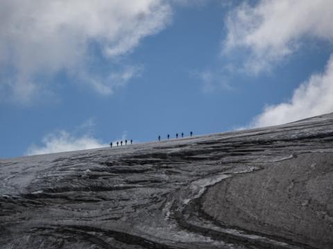 Excursiones sobre el Glaciar Niedergletscher