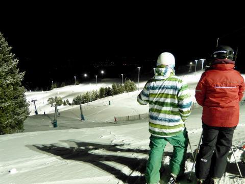 El esquí nocturno en Masella, la gran apuesta de la estación de la Cerdanya de la temporada 2013/14