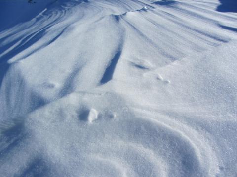 Nieve sobre Engelberg