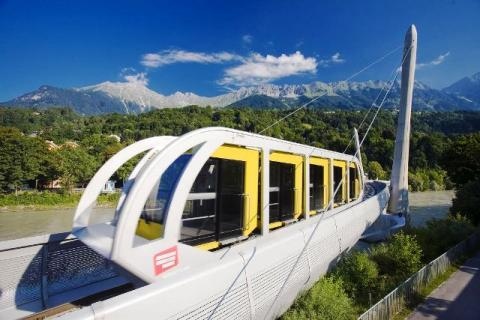 El Funicular Nordkettenbahn
