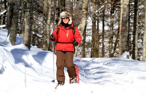 Raquetas de nieve. Bruno Labe