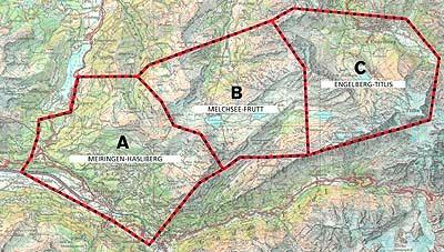 región completa mapa