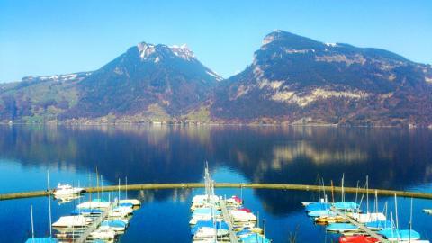 El Lago de Thun o Thunnersee. Crédito: Lugares de Nieve