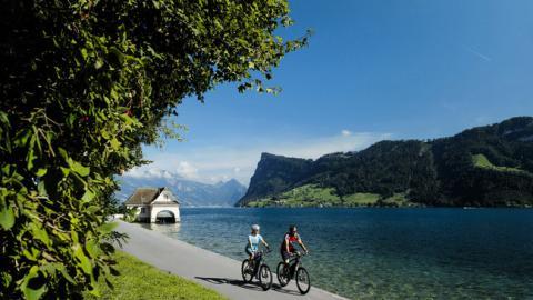 Descubre los Lagos del centro de Suiza