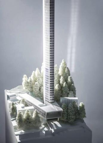 Maqueta del edificio Tower 7132