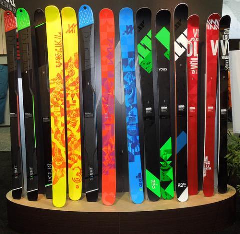Gama Freeride de los esquís Völkl