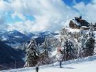 Imagen de la estación de esquí de Avoriaz, dominio Portes du Soleil
