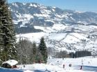 Paisaje nevado en Buchberg