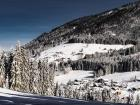 Paisaje nevado en St. Martin im Tennengebirge