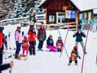 Esquiando en Tonnerhütte