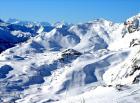 Panorama de Obertauern en el Tauern Radstädter