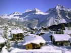 Una buena imagen de Arosa en los Grisones suizos.