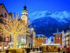 Vista de Nordkette desde Innsbruck