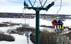 Telesilla en Minnedosa Ski Valley