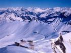 Hermoso paisaje en Montreux
