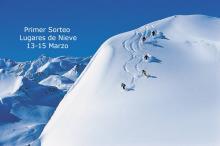 Semana de los sorteos en Lugares de Nieve