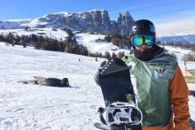 Aleix López, el Rider RFEDI prepara el asalto a la Copa del Mundo de Snowboard