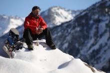 David Pujol, un espíritu libre al sol de la montaña