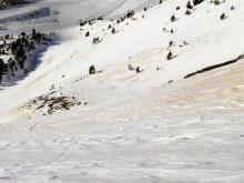 ¿Cómo afecta el polvo sahariano a la nieve?