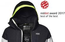 Icon jacket de Helly Hansen award Product Design Red Dot