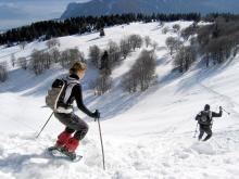 Raquetas de nieve Inook VXM, ideales para iniciarse en el snowshoeing!