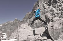 Tecnología de alta montaña en la L.T.K. Shield Woman Jacket de Millet