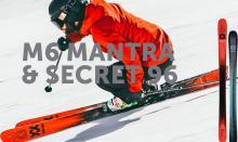 Avance Völkl: Nuevos M6 Mantra y Secret 96 para 2022